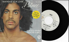 "PRINCE 7"" I WANNA BE YOUR LOVER GERMANY UNIQUE COVER"