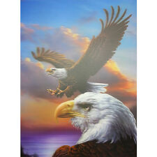 Eagles Blue Sky Lenticular 3D Picture Poster Painting Home Decor Wall Art Decor