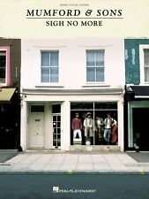 Mumford & Sons Sigh No More Sheet Music Piano Vocal Guitar SongBook NE 000307189