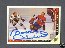 Bobby Hull signed 1992 Ultimate Golden Jet Trading card