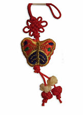 Handphone strap hand knitted colorful butterfly gift