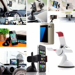 In Car Mobile Phone Holder Clamp Dashboard Windscreen Suction Mount Universal