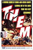 Them! Movie POSTER 11 x 17 James Whitmore, Edmund Gwenn, A