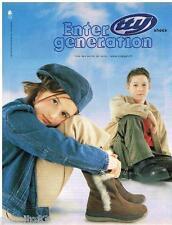 PUBLICITE ADVERTISING 105  2002  TTY   chaussures bottes enfants