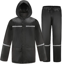 Kesser Rain Suits For Men Waterproof Rain Gear For Work Fishing Rain Coats Rain