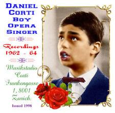 Daniel Corti Boy Soprano Opera Singer - 1962 - 64