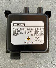 Siemens Zündtrafo ZM 20/10 für Wolf Brenner 2414235 NEU