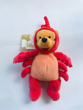"Disney Store Winnie the Pooh Cancer Crab Costume plush 8"" 🦀 🍯"