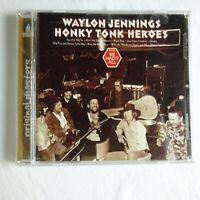 Waylon Jennings CD Honky Tonk Heroes with Bonus Tracks