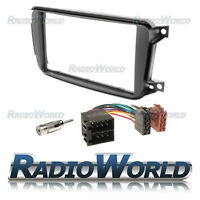 Smart Fortwo 2010 to 2014 Stereo Radio KIT Fascia Panel Adapter Double Din
