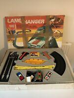 Vtg 1980's MATCHBOX LANE CHANGER 1000 Set Original Box + Instructions Slot Car