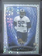 2014 Bowman Chrome Pulsar Refractor #199 Aaron Donald No 2 of 10