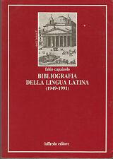 Bibliografia della lingua latina (1949-1991)