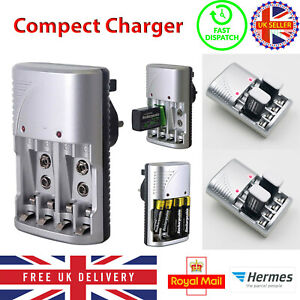 New Kingavon Mains Battery Charger for AA  AAA or 9V PP3 UK FREE DELIVERY UK