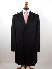 Rene Lezard otoño invierno abrigo talla 52 lana virgen cachemira impecable