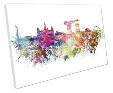 Imagen De Pared Arte Pintura Glasgow Grande 75 X 50 Cm