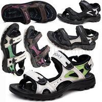 Womens Open Toe Walking Beach Sports Sandals Girls Hiking Outdoor Flats Shoes