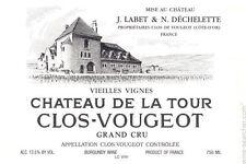 3 BT CLOS DE VOUGEOT GRAND CRU 2009 VIEILLES VIGNES CHATEAU DE LA TOUR