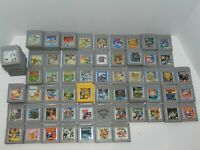 Nintendo Original Game Boy Games Complete Fun You Pick & Choose Video Games Lot