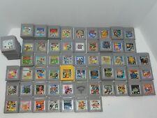 Nintendo Original Game Boy Games Complete Fun You Pick & Choose Video Games Lot
