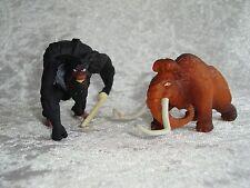 "Ice Age 4 2 Sammelfiguren Figuren Figur Mammut ""Manny"" + ""Captain Gutt"""