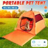 Pet Cat Dog Tent Outdoor House Kennel Bed Puppy Portable Foldable Cage Playpen
