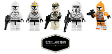 Lego Star Wars Clone Trooper Lot - ARF -Gunner - Pilot  Minifigure [7676 10195]