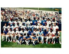 1987 ALL STAR TEAM NATIONAL LEAGUE 8X10 TEAM PHOTO OAKLAND ALAMEDA BASEBALL