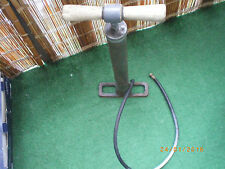 vintage air pump bicycle model A B car truck unbreakable base very old 1910-1930