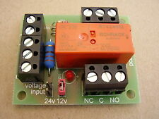 Handy little Relay board, 12/24v DC selectable coil i/p