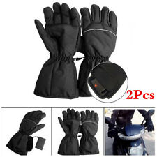 Waterproof Rechargeable Electric Battery Powered Heated Gloves Winter Warmer