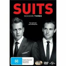 SUITS Season 3 DVD  4-Disc Set NEW