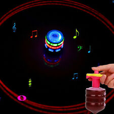 SUPER Spinning TOP GYRO Spinner Laser LED Music Flash Light Kids Party Toy Gift