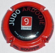 numéroté au verso 500ex Judo Ardooie ROUYER Capsule de Champagne: Extra !!