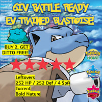 BLASTOISE 6IV Pokemon Sword & Shield | BATTLE READY | + DITTO OFFER LEGITIMATE