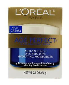 L'Oreal Age Perfect for Mature Skin Night Cream 2.5 oz