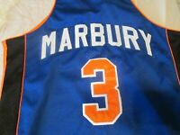 Basketball NBA Jersey Stephon Marbury Number 3 Steve & Barry's Small New W/ Tags