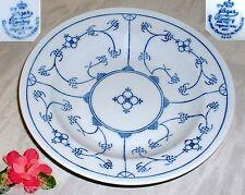 Indisch Blau Strohblume JÄGER ~ Suppenteller 22,3 cm