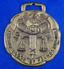 """Independent Order of Odd Fellows IOOF Grand Lodge of PA Fraternal Medal 1 3/4"""""""