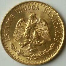 1945 Mexico Two Pesos Gold