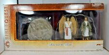"""Bible Quest - The Risen Savior """"Jesus & the Tomb w/Angel"""" Action Figures (New)"""