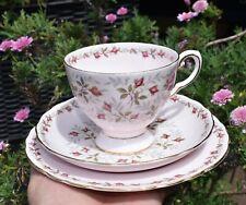 Pretty Vintage Tuscan CHARMAINE Trio - Pale Pink & Rose Buds 15154