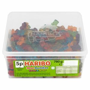 Haribo Bear Buddies Sweet & Sour Candy Sweets Pick 'N Mix Kids Party Favours