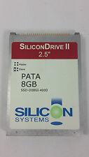 """SiliconDrive 8GB SATA 2,5"""" SSD-D08GI-4000 Silicon Systems"""