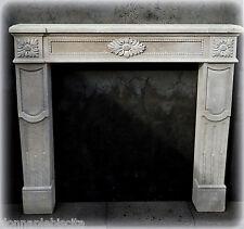 Camino in Pietra Leccese Stile Impero Empire Fireplace Stone CLASSIC HOME DESIGN