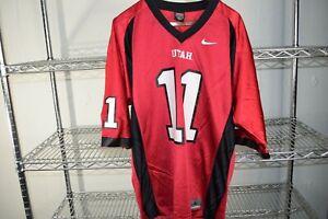 Alex Smith 2000s University of Utah Utes Football Jersey Nike Large Urban Meyer