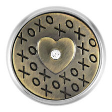 $6.95 Snap w/ Purchase of Any 4 Ginger Snaps Brass Xoxo Sn01-19 - 1 Free