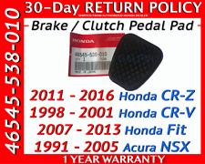 Genuine OEM Honda Brake / Clutch Pedal Rubber Cover Manual Transmission