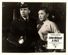FIEND WITHOUT A FACE ORIGINAL LOBBY CARD HORROR CULT CLASSIC KIM PARKER