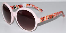 "PERVERSE ""Jackie Ooh Lala"" Pink Roses Women's Sunglasses Polycarbonate UV400"